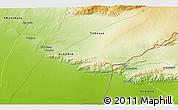 Physical 3D Map of 'Aïn Mdila