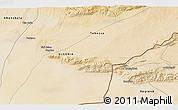 Satellite 3D Map of 'Aïn Mdila