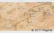 Satellite 3D Map of Saïda