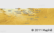 Physical Panoramic Map of Aïn el Hadid