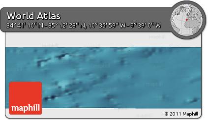 "Satellite Panoramic Map of the Area around 34°56'49""N,10°7'30""W"