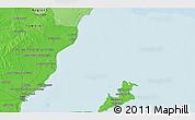 Political 3D Map of Sfax
