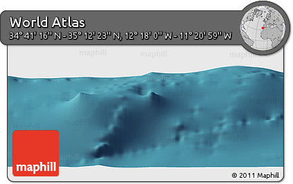 "Satellite Panoramic Map of the Area around 34°56'49""N,11°49'29""W"