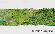 Satellite Panoramic Map of Kwangju