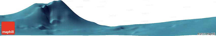 "Satellite Horizon Map of the Area around 34° 56' 49"" N, 12° 40' 30"" W"