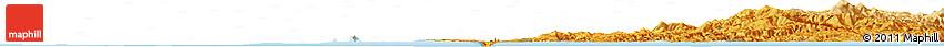 "Political Horizon Map of the Area around 34° 56' 49"" N, 131° 49' 29"" E"
