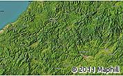 "Satellite Map of the area around 34°56'49""N,132°40'30""E"