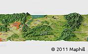 "Satellite Panoramic Map of the area around 34°56'49""N,136°4'29""E"