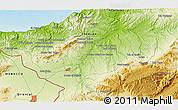 Physical 3D Map of Tlemcen