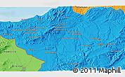 Political 3D Map of Tlemcen