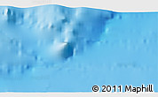 """Shaded Relief 3D Map of the area around 34°56'49""""N,28°7'30""""E"""