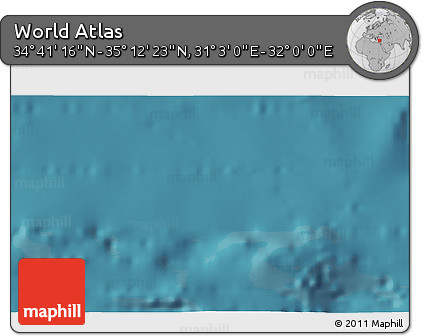 """Satellite 3D Map of the Area around 34°56'49""""N,31°31'29""""E"""
