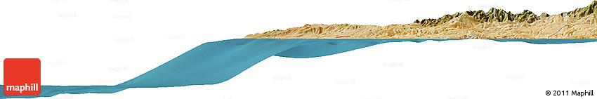 Satellite Horizon Map of Plataniskia