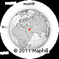Outline Map of Zālka, rectangular outline