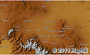 """Physical Map of the area around 34°56'49""""N,48°31'29""""E"""