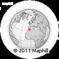 Outline Map of Igraimgene, rectangular outline
