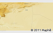 """Physical 3D Map of the area around 34°56'49""""N,54°28'30""""E"""
