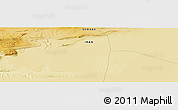 """Physical Panoramic Map of the area around 34°56'49""""N,54°28'30""""E"""