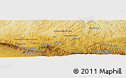 "Physical Panoramic Map of the area around 34° 56' 49"" N, 62° 7' 30"" E"