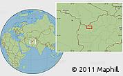 "Savanna Style Location Map of the area around 34°56'49""N,62°58'30""E"