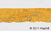 Political Panoramic Map of Acheshkah