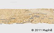 Satellite Panoramic Map of Acheshkah