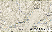 """Shaded Relief Map of the area around 34°56'49""""N,67°13'29""""E"""