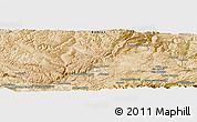 "Satellite Panoramic Map of the area around 34°56'49""N,67°13'29""E"