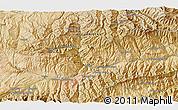 Satellite 3D Map of Bāmīān