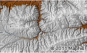 Physical Map of Ghowjūrak