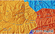 Political Map of Bāmīān