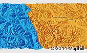 Political 3D Map of Heweitan