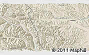 Shaded Relief 3D Map of Heweitan