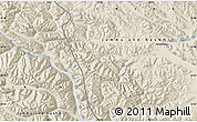 Shaded Relief Map of Heweitan