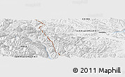 "Physical Panoramic Map of the area around 34° 56' 49"" N, 78° 16' 30"" E"