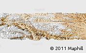 Satellite Panoramic Map of Heweitan