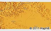 Political 3D Map of Tielongtan