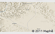 Shaded Relief 3D Map of Tielongtan