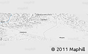 Physical Panoramic Map of Bilongtan