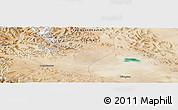Satellite Panoramic Map of Tielongtan
