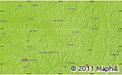 Physical Map of Mount Moriah
