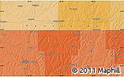Political Map of Mount Moriah