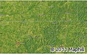 Satellite Map of Mount Moriah