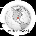 Outline Map of Mount Moriah, rectangular outline