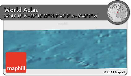 "Satellite Panoramic Map of the Area around 34°56'49""N,9°16'30""W"