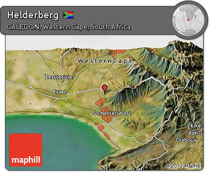 Free Satellite 3D Map of Helderberg
