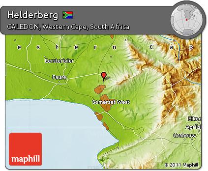 Free Physical Map of Helderberg
