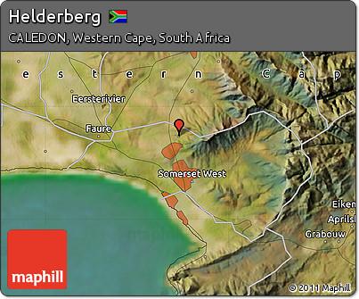 Free Satellite Map of Helderberg