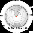 Outline Map of Port Elizabeth, rectangular outline