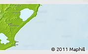 Physical 3D Map of Vuelta del Palmar